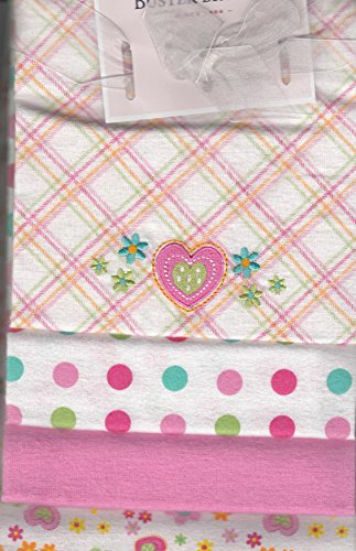 Buster Brown 4 Flannel Blankets (Pink)