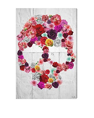 "Oliver Gal ""Bed of Roses"" Canvas Art"