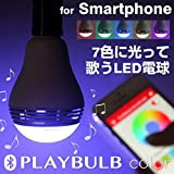 マイポー プレイバルブ カラー[E26/200lm] MiPow PLAYBULB color Smart LED Speaker