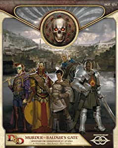 Murder in Baldur's Gate: Sundering Adventure 1 (D&D Adventure) by Ed Greenwood, Matt Sernett and Steve Winter