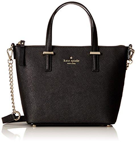kate spade new york Cedar Street Harmony Convertible Cross Body Bag, Black, One Size