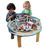Disney KIDKRAFT Pixar Cars 3 Florida 55+ Piece Wooden Track Set with Accessories and Table