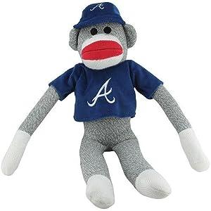 MLB Atlanta Braves 20 Sock Monkey with Uniform by My Sports Shop