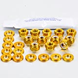Aluminium Rocker Cover Kit Audi Quattro (4 Cyl.) Gold
