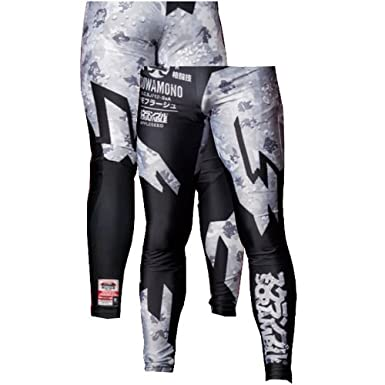 Scramble Camo Grappling Spats - Black