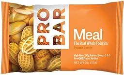 Probar Meal Bars - Peanut Butter - 3 oz - 12 ct
