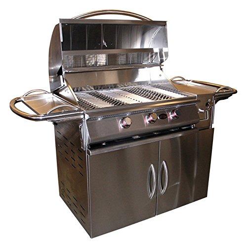 Cal Flame A-LA-Cart Plus with 3 Burner G3 Multicolor - A-LA-CART PLUS-HN