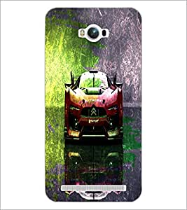 PrintDhaba Car D-4847 Back Case Cover for ASUS ZENFONE MAX ZC550KL (Multi-Coloured)