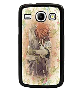 PrintDhaba Couple D-3710 Back Case Cover for SAMSUNG GALAXY CORE i8262 (Multi-Coloured)