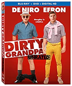 Amazon.com: Dirty Grandpa (Unrated) [Blu-ray + DVD + Digital HD