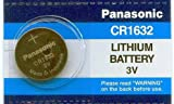Panasonic Battery CR1632 3V 3 Volt Lithium Coin Size Battery