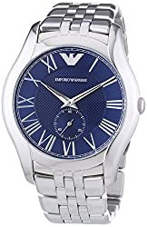 Emporio Armani Classic Analogue Blue Dial Mens Watch - AR1789