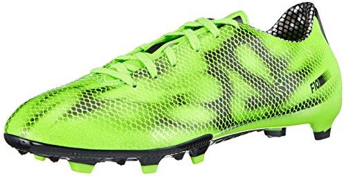 adidas - F10 Firm Ground, Scarpe da calcio da uomo, grigio (gruen), 43.3333333333333