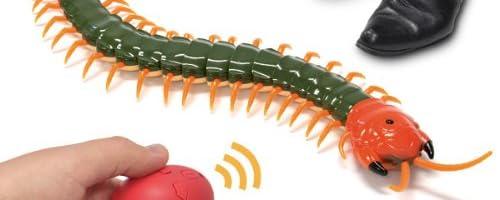 百足(ムカデ)型 ラジコン「百ラジ(むかラジ)! USB 赤外線 RC【アカズムカデ(トビズムカデ亜種)】」全長35cmの ムカデ 赤外線 RC!同時走行3台可能! インパクト抜群でキモ可愛い!?
