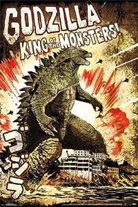 Godzilla King Of The Monsters Poster Godzilla - King Of The