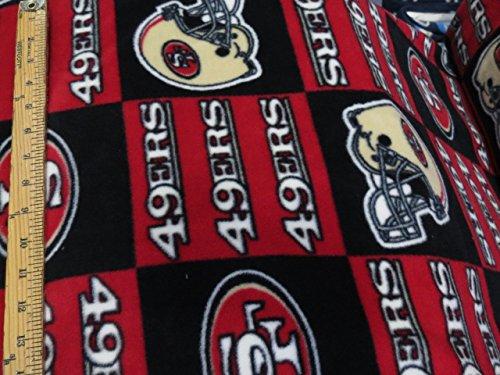 49ers Blanket Fleece front-1041233