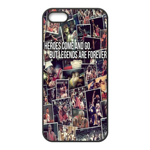 Unigue Design IPhone5 5s cover Michael Jordan IPhone5 5s Case Michael Jordan Chicago Bulls 23 IPhone5 5s Case- Cell Phone Hard Case Cover006 at Amazon.com