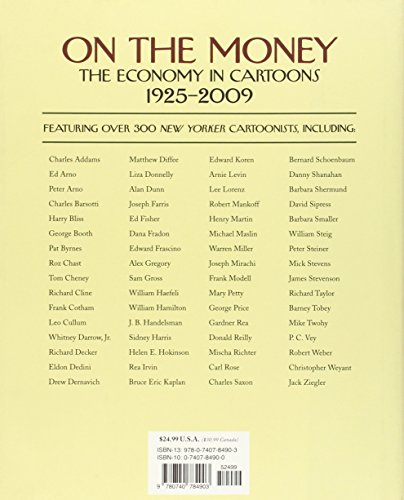 The New Yorker On The Money The Economy Cartoons 1925-2009