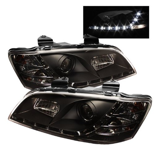 Pontiac G8 2008 2009 DRL LED Projector Headlights