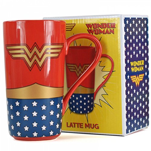 Wonder Woman Large Latte Mug