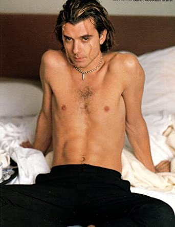 Gavin Rossdale Shirtless original clipping magazine photo 1page 8x10 #
