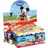 Mickey Mouse Bubbles Disney Kids Party Bag Fillers Maze On Lid Tubs