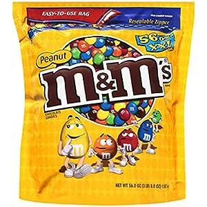 M&m's® Chocolate Peanut - 56 Oz. Bag - COS