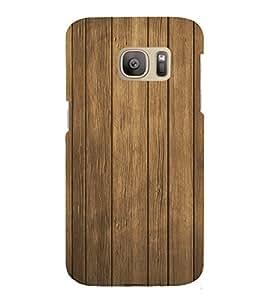 Old wood Stripes Background 3D Hard Polycarbonate Designer Back Case Cover for Samsung Galaxy S7 :: Samsung Galaxy S7 G930F :: Samsung Galaxy S7 Duos G930FD