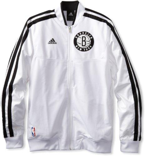 NBA Brooklyn Nets On-Court Warm-Up Jacket Home Weekday, Medium adidas Jackets autotags B0089NWQ2A