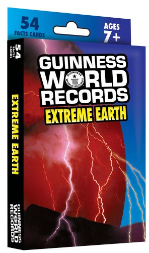 Guinness World Records® Extreme Earth Learning Cards - 1