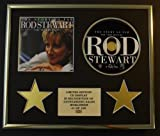 ROD STEWART/CD DISPLAY/LIMITED EDITION/COA/THE STORY SO FAR - THE VERY BEST OF