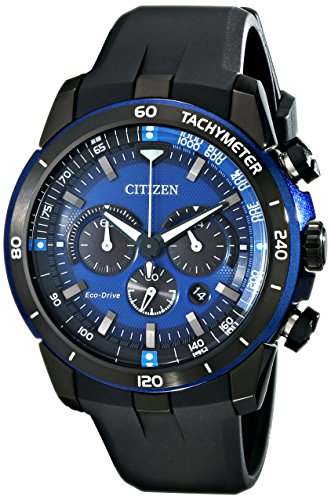 Citizen Eco-Drive Men's CA4155-12L Ecosphere Analog Display Black Watch (Citizen Ecodrive Blue Dial compare prices)