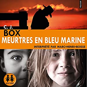 Meurtres en bleu marine | Livre audio