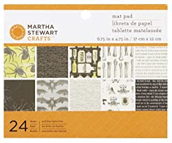 Martha Stewart Crafts Elegant Witch Mat Pad