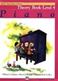 Alfred's Basic Piano Course Theory, Bk 4 (Alfred's Basic Piano Library)