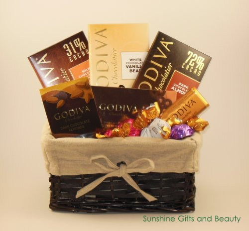 Godiva Assorted Chocolate Gift Basket