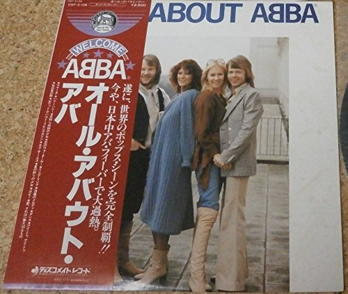 Abba - All About Abba (Japan Vinyl Lp) - Zortam Music