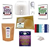 KKamp Continuous Brew Kombucha NO-FRILLS PACKAGE - White w/ Stand