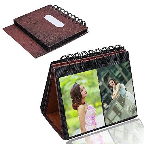 xhorizon-TM-SR-3-Inch-72-Pieces-Desk-Stand-Calender-Mini-Book-Photo-Album-for-Fujifilm-Instax-Mini-8-7s-25-50s-90-Film-business-Card