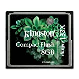 Kingston Carte CompactFlash Elite Pro 133x 8 Gopar Kingston Technology