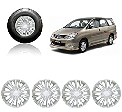 Premium Quality Car Full Caps Silver 15inches Wheel Cover For - Toyota Innova