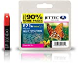 Jettec T0713 Magenta Epson Compatible Printer Ink Cartridge for Epson Stylus B40W BX300f BX310FN BX600FW BX610FW D & DX Range D120 Network D78 D92 DX400 DX4000 DX4050 DX4400 DX4450 DX5000 DX5050 DX6000 DX6050 DX6050EN DX7000 DX7000F DX7400 DX7450 DX8000