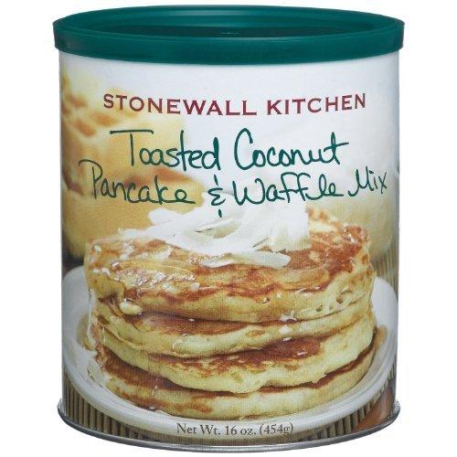 Stonewall Kitchen Toasted Coconut Pancake & Waffle Mix, 16