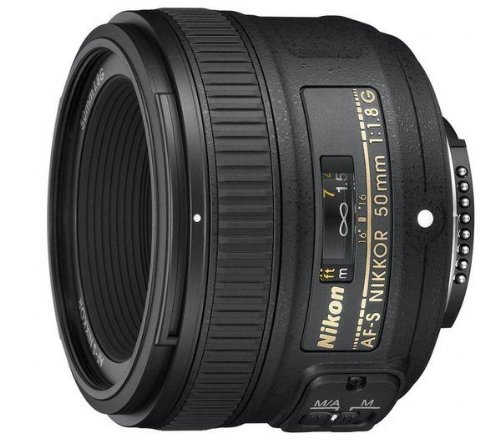 NIKON AF-S Nikkor 50mm f / 1.8G Lens + UV Filter 58mm