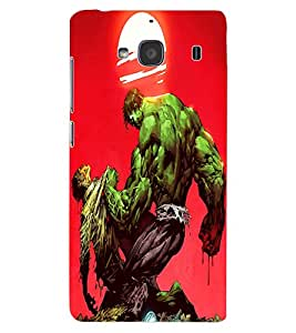 ColourCraft Cartoon Warrior Design Back Case Cover for XIAOMI REDMI 2S