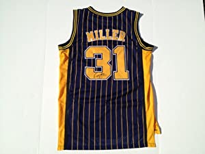 Indiana Pacers REGGIE MILLER Signed Autographed Jersey COA by Basketball