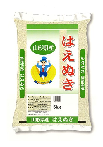 【精米】 山形県産 白米 はえぬき 5kg 平成27年産