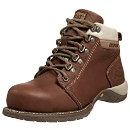 Caterpillar Women's Carlie Steel Toe Boot,Chocolate,10 M US