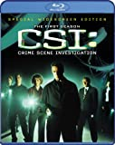 CSI: Crime Scene Investigation: Season 1 [Blu-ray]