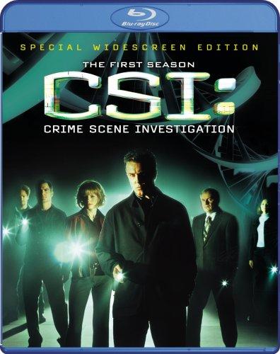 CSI: Crime Scene Investigation: Season 1 [Blu-ray]